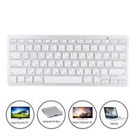 Portable Wireless BT Russian Keyboard For iOS Android Windows Macbook Notebook