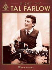 Best of Tal Farlow Sheet Music Guitar Tablature Book NEW 000125661