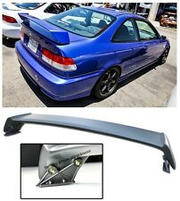 For 96-00 Honda Civic Coupe 2Dr JDM MUGEN Style Rear Trunk Wing Spoiler Lip Kit