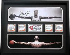 New Michael Jordan Signed Chicago Bulls Limited Edition Memorabilia