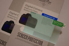 2x LCD Screen Protector for Panasonic GX7 MarkII GX80 / GX85 G8 Camera NEW