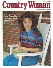 Country Woman Magazines Jul/Aug 2000 Gardens, Sunflowers, Crafts, Decor & More
