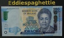 Malawi 200 Kwacha 1-1-2017 UNC P-60d
