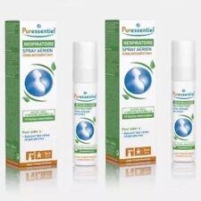 PURESSENTIEL Respiratoire LOT de 2 Sprays aux Huiles Essentielles