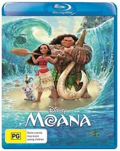 MOANA (2016) Blu-ray [Region Free] Disney