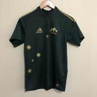 Cricket Australia Adidas 2008 ODI One Day Polo Shirt Green Youth Boys 14