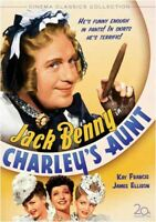 CHARLEY'S AUNT (1941) NEW DVD FREE SHIPPING