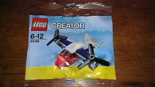 "LEGO CREATOR Set No.30189 - ""Transport Plane"" - BRAND NEW FACTORY SEALED POLYBAG"