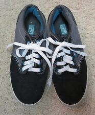 ac7aa0ba39 New ListingVans Womens classes Black suede leather and gray skate shoes