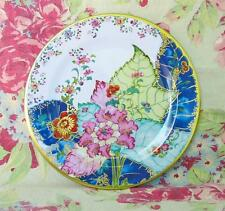 Faux China Tin Dinner Plate Tobacco Leaf Pattern Met Museum Reproduction
