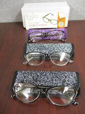 Design Optics By Foster Grant Ladies Full Frame Reading Glasses- 3 PACK +2.00 C