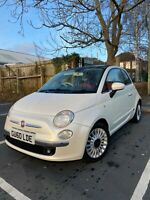 Fiat 500 lounge 1.3 Diesel Turbo 2010 ,Red leather,alloys,72 MPH