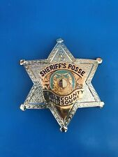 MICHAEL GÖDE USA Police INSIGNE BADGE Sheriff 's Posse Clay County Missouri