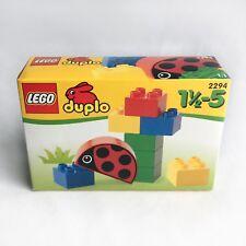 LEGO DUPLO Ladybug Set #2294 Retro 1999 Retired NEW SEALED Box