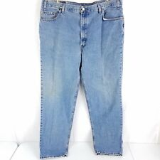 Vtg Levis 550 USA Made Medium Wash Blue Jeans, Mens 43x33 (Tag 46x34)