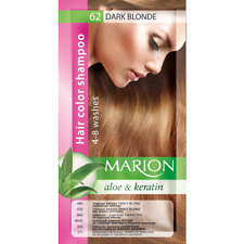 Marion Hair color shampoo sachet (lasting 4-8 washes) Aloe & Keratin 62