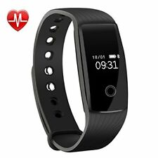 Fitness Activity Tracker with Sleep Monitor Smartwatch for iPhone Samsung