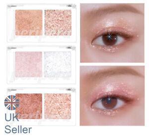 PERIPERA Duo Pocket Glitter Shadow, Eyeshadow / Highlighter, UK Seller