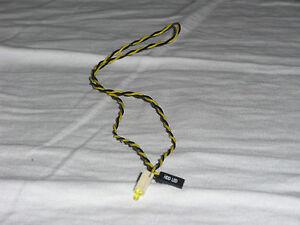 HDD Festplatte LED Anschluss Leuchtdiode kleine gelbe Leuchte Frontpanel 2