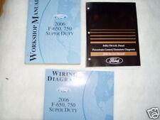 2006 Ford F-650, F-750 Super Duty Service Manual Set