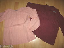 TAO, gilet rose manches 3/4 - In Extenso, tunique rose - Taille 10 ans