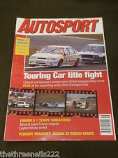 AUTOSPORT - TOURING CAR TITLE FIGHT - SEPT 19 1991