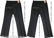 New Girls Marks & Spencer Black School Trousers x 2 Age 10 Years