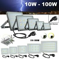 10-100W LED Flood Light Outdoor Garden Floodlight Landscape Lamp Cold/Warm White