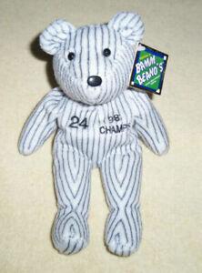 MLB Plush Beanie Bear - Many Teams / Players Available - New with Tags - Rare