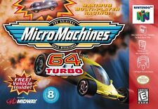 Micro Machines 64 Turbo N64 Great Condition Fast Shipping