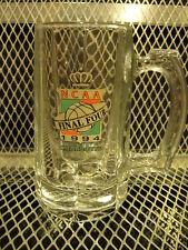 NCAA FINAL FOUR 1994 CHARLOTTE NC ~ RARE ~ Glass Beer Mug ~ Arkansas VS Duke
