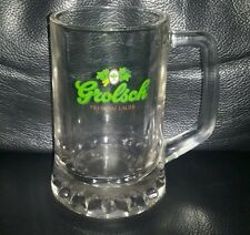 RARE COLLECTABLE GROLSCH BEER MUG GLASS BRAND NEW NEVER USED