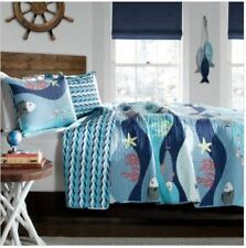 Kids Quilts For Boys Full Queen Ocean Themed Bedding Nautical Decor For Bedroom