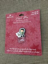 New  Hallmark Frosty Friends Collector Series 1980 Inspired  Lapel Pin Brooch
