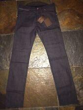 %100 Auth Limited Edt LOUIS VUITTON DAMIER GRAPHITE Denim Jeans LV40 US30 Slim