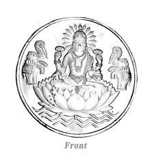999 Silver Coin Goddess Laxmi for Diwali Puja Spiritual Worship Wealth Luck