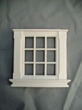 Half Scale 1:24 GEORGIAN 9 PANE WINDOW Jackson's Miniatures  Dollhouse  #L5