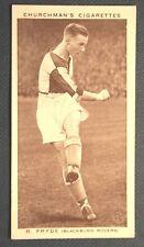 Blackburn Rovers Pryde Original Vintage Foto Tarjeta en muy buena condición