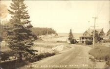 Christmas Cove The Bar 1930s Real Photo Postcard