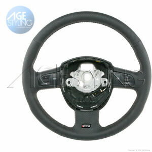 Audi RS4 B7 Punched Leather Steering Wheel w. multimedia controls 8E0419091EC8UD