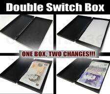 Interrupteur double boite Vanish apparaissent dans un Change DEUX FOIS MAGIQUE