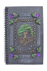 Nemesis Now Wiccan Tree Of Life Magical Dream Book Journal Gothic Gift Celtic