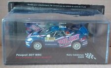 "DIE CAST "" PEUGEOT 307 WRC RALLY CATALUYA - 2009 "" SCALA 1/43"