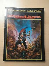 Advanced Dungeons And Dragons 2e Combat And Tactics Softcover