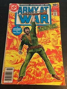 Army At War#1 Awesome Condition 5.0(1978) Kubert Cover!!