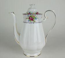 Large Coffee Pot Royal Albert Petit Point vintage bone china England