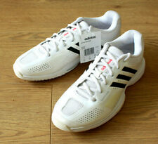 Adidas Adipower Barricade Ladies White Tennis Trainers UK 7 Signed Autographs