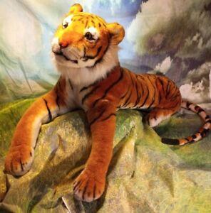 "Melissa and Doug Jumbo Bengal Tiger #2103 Extra Large 67"" Plush Great Condition"