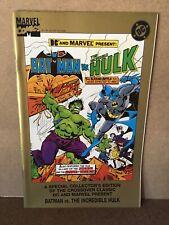 DC AND MARVEL COMICS PRESENT A SPECIAL COLLECTOR'S EDITION BATMAN VS HULK
