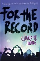 For The Record ' Huang, Charlotte